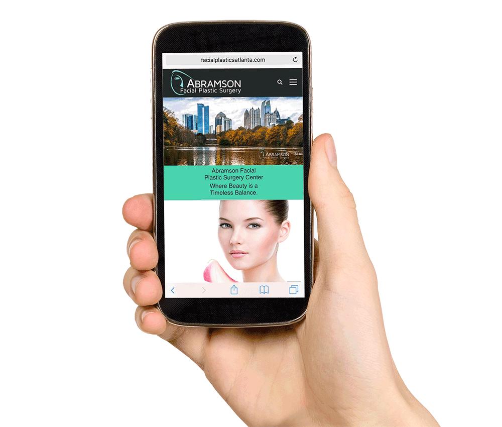 Mobile friendly website Faccial Plastics Atlanta